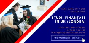 Maria Palliu consiliere Studii Finantate UK Anglia Londra