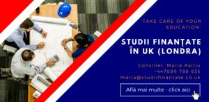 Maria Palliu consiliere Studii Finantate UK Anglia Londra Arhitectura