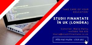 Maria Palliu consiliere Studii Finantate UK Anglia Londra Programare IT Informatica