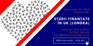 Maria Palliu consiliere Studii Finantate UK Anglia Londra Sport