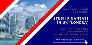 Maria Palliu consiliere Studii Finantate UK Anglia Londra Turism si Ospitalitate